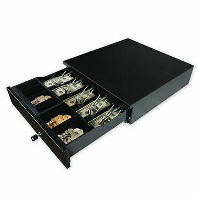 Cash Register Drawer Box 5 Bill 5 Coins Tray Compatible Works Pos Printers Rj11