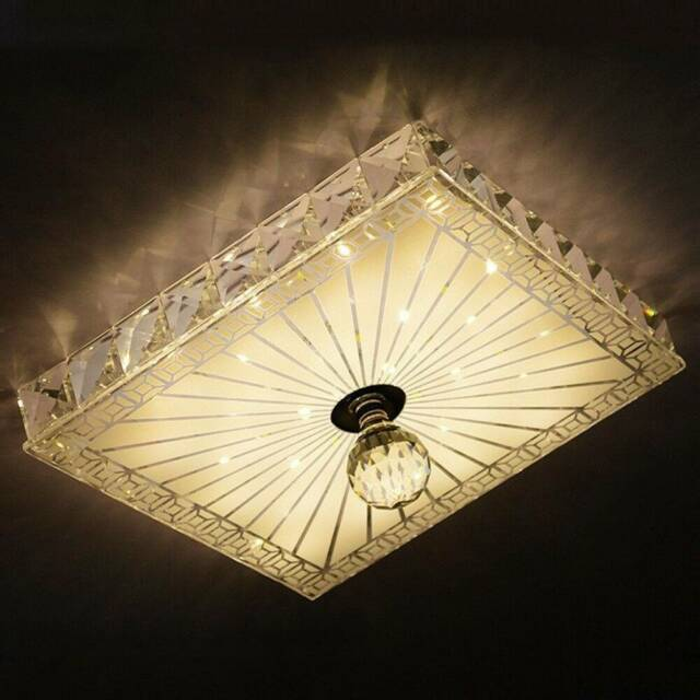 Modern Crystal Tempered Glass Led Ceiling Light Fixture Pendant Ceiling Lights Gumtree
