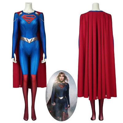 Supergirl Costume Cosplay Suit Kara Zor-El Supergirl Season - Kara Zor El Kostüm