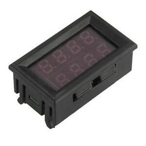 Pannello-LCD-Voltmetro-Amperometro-Tester-Misura-Tensione-Blu-Corrente-Rosso