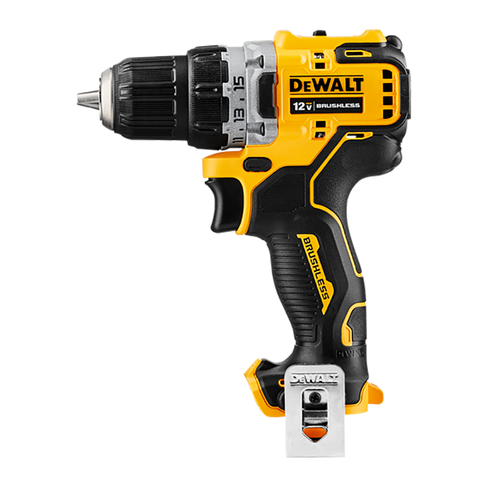 Dewalt DCD701N 12V Max 2.0Ah Compact Drill Driver - Body Only