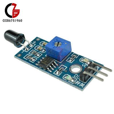10pcs Flame Detection Sensor Ir Infrared Receiver Control 3pin Aodo Output