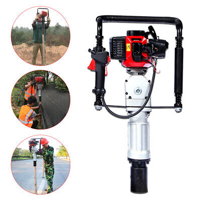 52cctwo-stroke Air Cooling Single Cylinder Pile Driver2post Driving Head5070mm