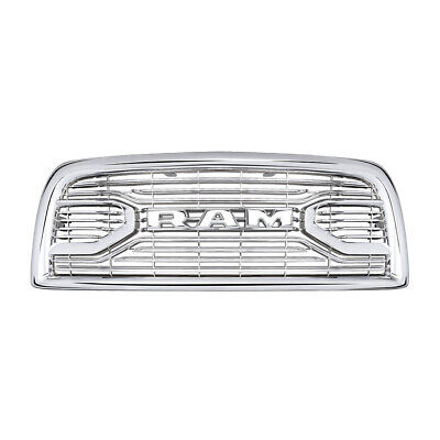Front Grille Fits for 2013-2018 Dodge RAM 2500-5500 Chrome Laramie Limited