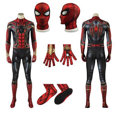 Avengers Infinity War Spider-Man Halloween Cosplay Jumpsuit Peter Parker Costume - Spider Man Halloween