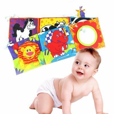 Hosim Baby Soft Crib Cloth Book Animal Puzzle Toys Education Development Toys