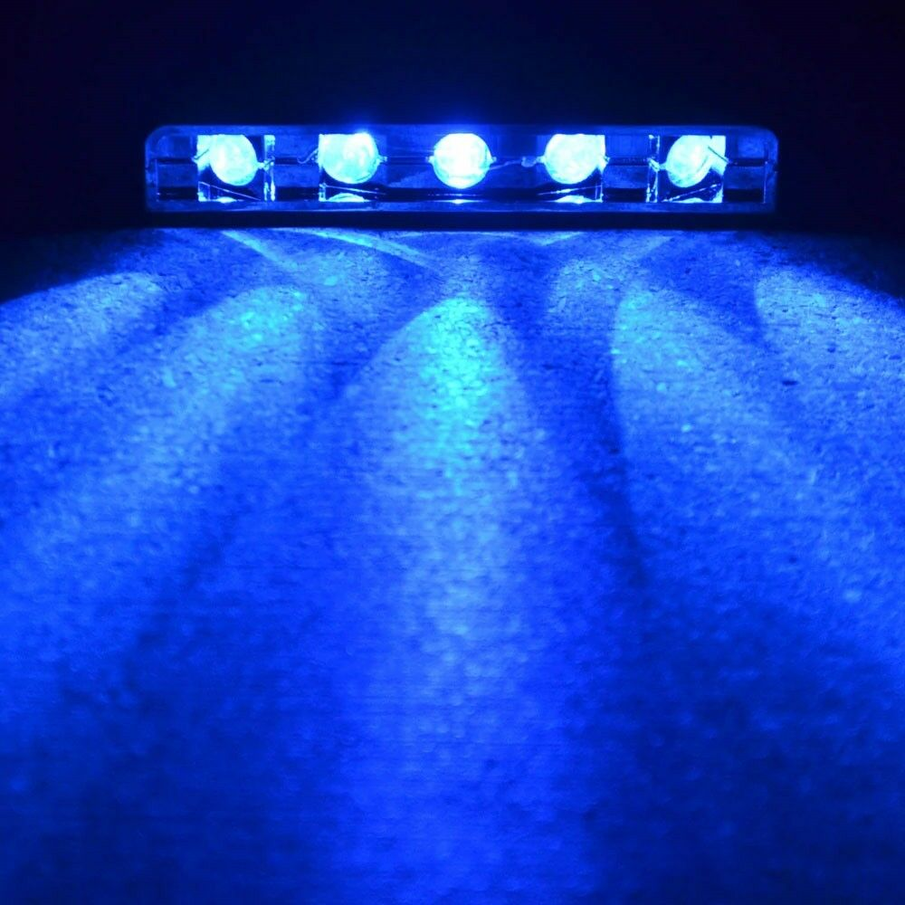 Purple UV 5 LED Pod for Motorcycle// ATV// Bike// Car Installs 12V Bar Light