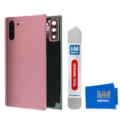 Tapa Batería Parte Trasera Funda Para Samsung Galaxy Note 10 (Rosa)