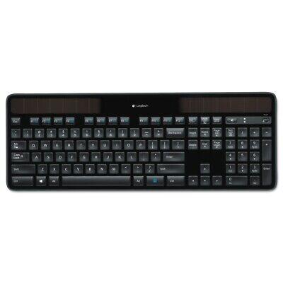 Logitech K750 Wireless Solar Keyboard for Windows Solar Recharging Keyboard 2.4G