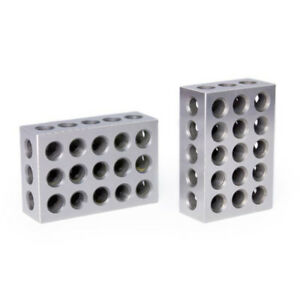 """Pair of iGaging 2 4 6 blocks for milling (They are 2x4x6 inches, within 0.0001"""")"""