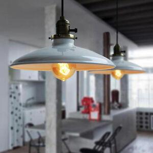 Loft Retro Industrial Iron Vintage Ceiling light Chandelier Pendant Lamp Fixture