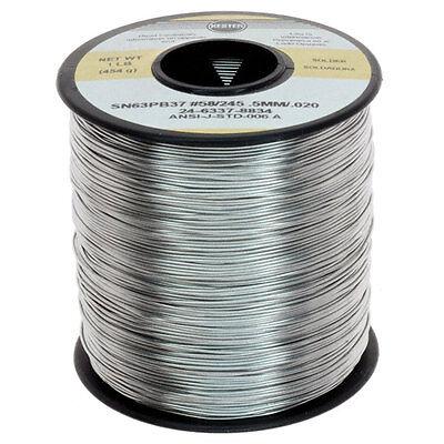 Kester 24-6337-8834 .02 Diameter 63 Tin 37 Lead 1 Lb Solder Roll