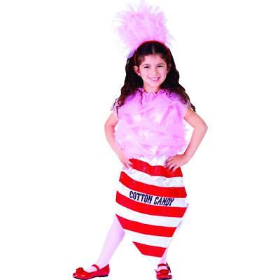 Dress Up America Zuckerwatte Prinzessin Kostüm, Gr. 1-2 - Dress Up Prinzessin Kostüme