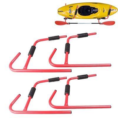 Used, 2 Pair Steel Kayak Canoe Arms Storage Wall M