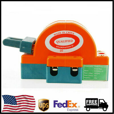 220V 32/100A Three Four Pole Double Throw Knife Disconnect Switch Power Transfer