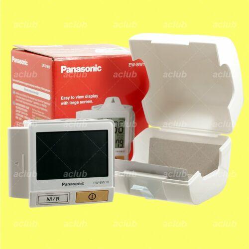 Panasonic EW-BW10 LCD Display Wrist Type Blood Pressure Puls