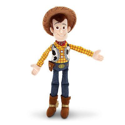 Disney Store Toy Story Sheriff Woody Cowboy Plush Toy Doll 12