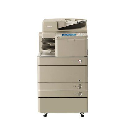 Canon Imagerunner Advance C5045 All In One Copier Printer Scan Mfp Color