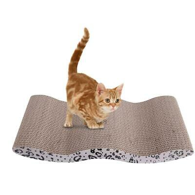 Cool Wave-style Harden Corrugated Paper Pet Cat Toy Cat Claw-grinding Plate - $12.99