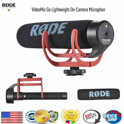 RODE VideoMic Cardioid Microphone On-Camera Shotgun Mic for Canon Nikon Cam Sony