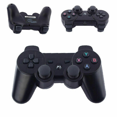 Black 3rd Party PS3 Wireless Gamepad Controller for Playstation 3 Console UK