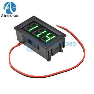 0.56green Led Voltmeter 2-wire Digital Voltage Ac70-500v Panel Ammeter Meter