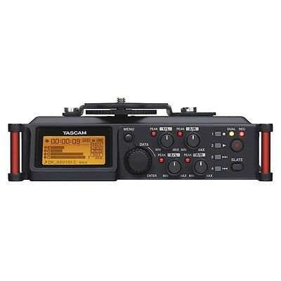 Tascam DR-70D 4-Ch Linear PCM Audio Recorder for Nikon Canon T3 T5 DSLR Cameras