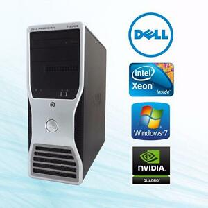 Dell Precision T3500 WorkStation Intel Xeon Quad Core 3.06GHz W3550 12GB RAM Dual HardDrive 1TB & 300GB NvidiaVideo Win7