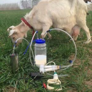 110V Electric Goat Sheep Cow Milking Machine 1/2Gallon,2L 032047