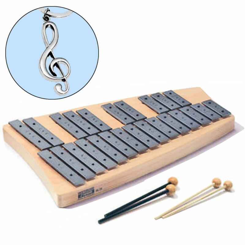 Sonor Sg 25 Soprano Glockenspiel + Keepdrum Clef Pendant