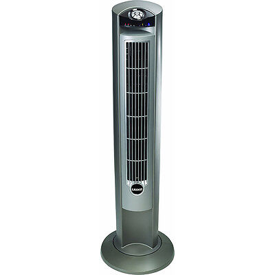 Lasko Wind Curve 42-Inch 3-Speed Tower Fan Remote Control Fresh Air Ioniz 2551