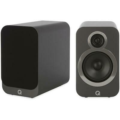Q Acoustics 3020i Regal Lautsprecher Speaker Hifi Stereo Heimkino Graphit 1 PAAR