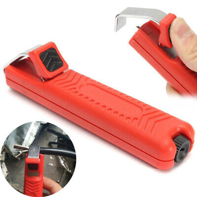 Insulated Rotating Blade Cable Stripping Knife Stripper Cutter Electrician Tools