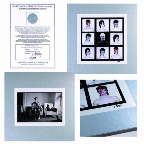 David Bowie - Aladdin Sane Limited Edition Silver Print Collection - Official