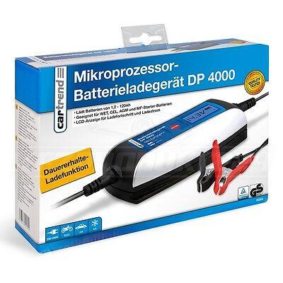 CARTREND DP 4000 MIKROPROZESSOR BATTERIELADEGERÄT - 6 / 12 Volt - 2 / 4 A #50264