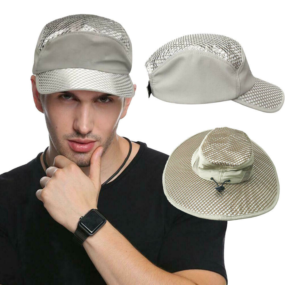 ef01a0e89 Details about Hydro Cooling Bucket Hat Arctic Hat UV Protection Ice Cap  Sunscreen Evaporative