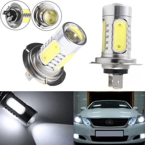 Car Parts - 2x H7 Super White Main Dipped Beam 499 Led 80W Headlight Bulbs Lamp Light UK
