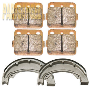 Front Rear Sintered Brake Pads - 2001 2002 2003 2004 Honda TRX 250 EX Sportrax