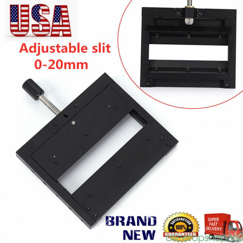 Adjustable Slit 20mm Optical Slit Lsxf2-20 One-way Micrometer Adjustable Single