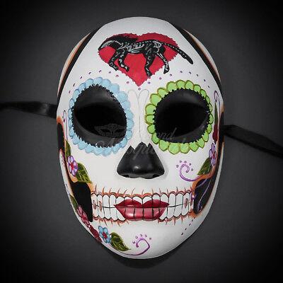 Day of the Dead Dias De Muerto women's Mask Halloween Party Mask