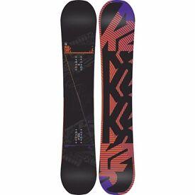 K2 Subculture Snowboard 161cm