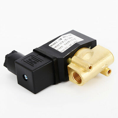 Brass 110v120v Ac 14 Electric Solenoid Valve Nc For Water Air Gas Us
