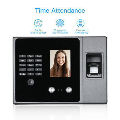 Biometric Face Fingerprint Attendance Machine Reader Usb Flash Driver Ethernet