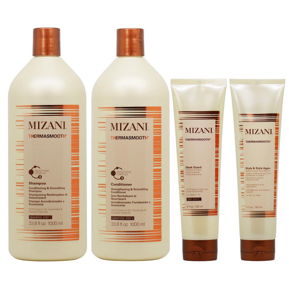 Mizani Thermasmooth Smoothing 4 Piece Set Hair Care & Styling
