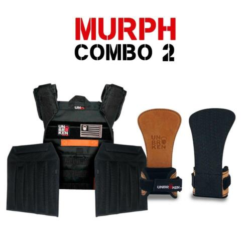 Combo Murph Vest + Sand Plates + Hand Grips  Unbroken