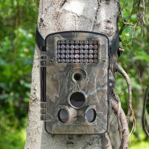 RD1000 12MP Hunting Camera Trail Scouting Wildlife IR Night Vision LED Infrared