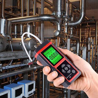 Lcd Manometer Digital Air Pressure Meter Guage 20.68 Kpa 1 Or 2 Pipes Gas Test