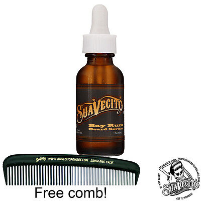 Suavecito Bay Rum Beard Oil