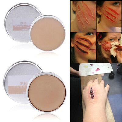 15g Halloween Fancy Dress Fake Scar Wound Skin Wax Body Face Painting Make Up