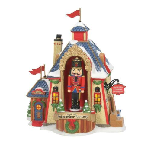 Dept 56 NORTH POLE NUTCRACKER FACTORY North Pole Village 6007611 NEW 2021